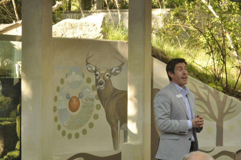 MK Nature Center Mural public art Boise Idaho Marcus Pierce
