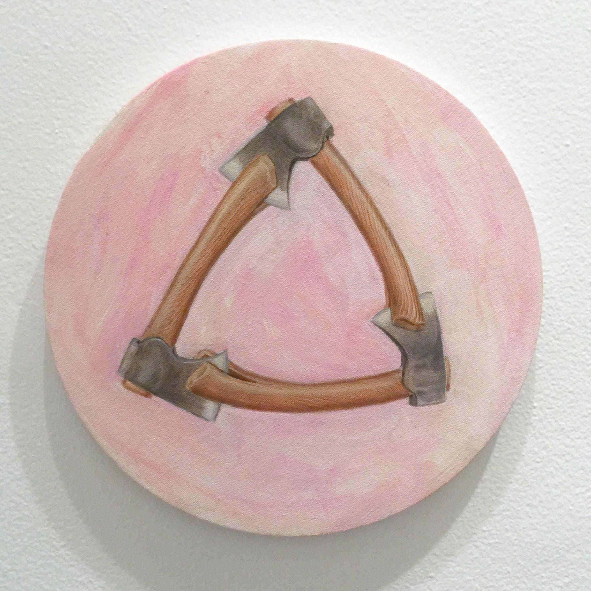 Marcus Pierce | Fine Art | New York, New York Strange Loop Tondo